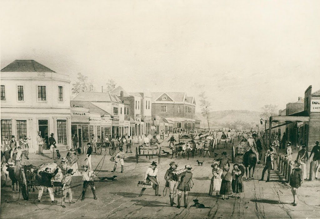 S T gill Rundle St Adelaide 1845
