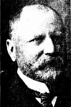 Mr Richard W Pennefather, KC, MLC. Black and white photo from his obituary in the WA Record, 24 Jan 1914